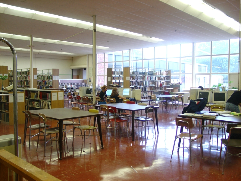 RMHS library (cafeteria)