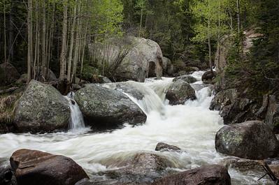 Turbulent Glacier Creek
