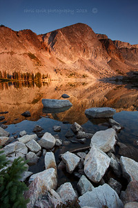 Sunrise on Lake Marie - Snowy Range, Medicine Bow National Forest - Chris Sprik - August 2013