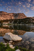 A breeze ruffles the surface of Mirror Lake - Medicine Bow National Forest - Mark Gromko - August 2013