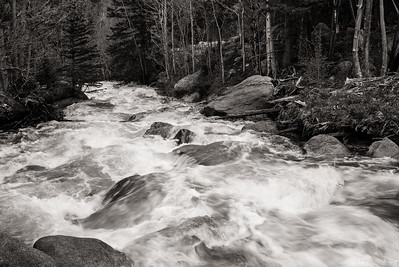 Tumbling Glacier Creek