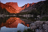 Sunrise on Dream Lake - Rocky Mountain National Park, Colorado - Mark Gromko - August 2013