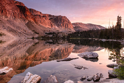 Lake Marie and the Snowy Range - Medicine Bow National Forest, Wyoming - Mark Gromko - August 2013