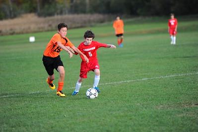 RMS Vs Midd at Midd Boys Soccer 10/13/16