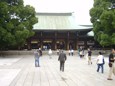 Japanese shrines/temples in Tokyo