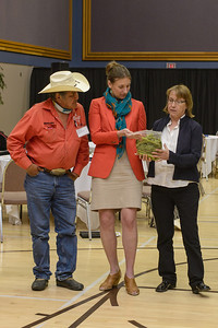 Session 4:  Sharing samples of valued land resources gathered by the Doig River First Nations