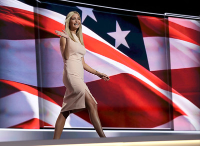 The Republican National Convention in Cleveland, Thursday, July 21, 2016.