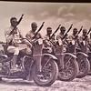 Nazis used motorcyles...