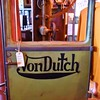 I've got a magazine with Von Dutch's Honda in it. This of course was his trade mark.