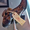 These snakeskin boots were worn by Mickey Gilley. ..Country Singer and owner of Gilley's in TX.