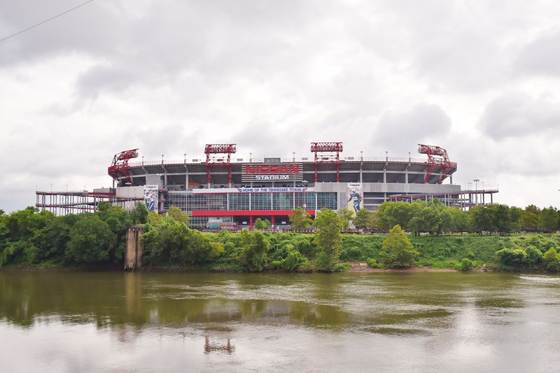 Home of The Titans!!! ..Sitting on The Cumberland River.