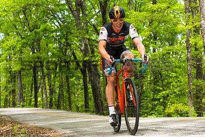 Joe Martin Stage Race - Stage 1. UCI Pro 1 Men. George Simpson (Gateway Harley-Davidson Trek U25 Cycling Team (USA) makes his way up the switchback section of the course.
