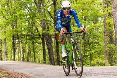 Joe Martin Stage Race - Stage 1. UCI Pro 1 Men. A Team Arapahoe Resources (USA) rider makes his way up the switchback section of the course.