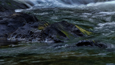 Image shot with the CPL alone. The sun was already high up but parts of the river were still in deep shade. Hence the strong colours.