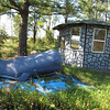 Afro American yard art...the Blue Whale.