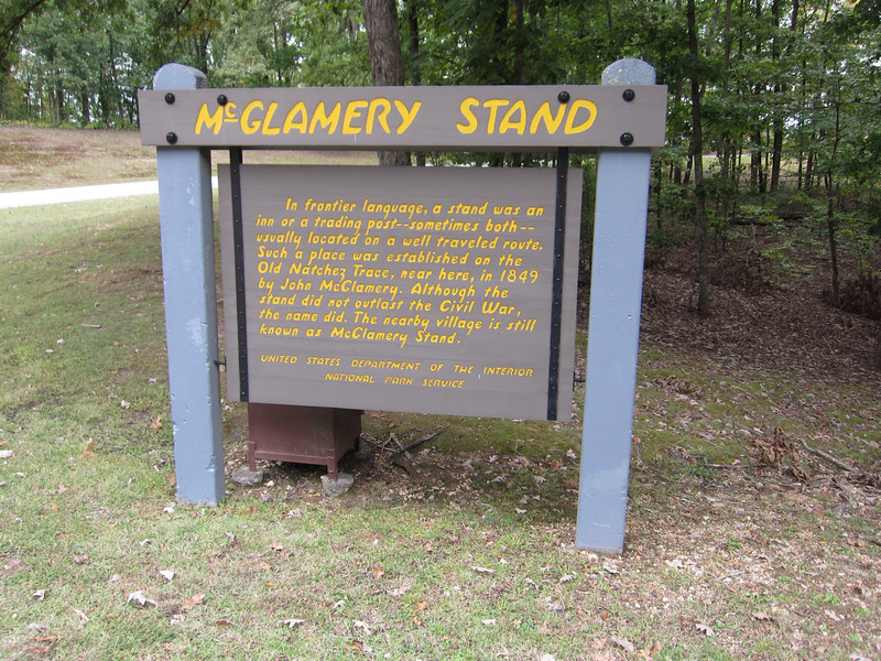 McGlamery Stand.....Stand is a trading post or inn in frontier language