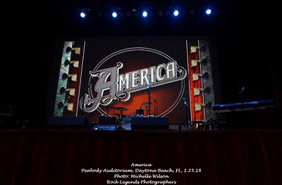 AMERICA Peabody Auditorium Daytona Beach, FL 1-25-18