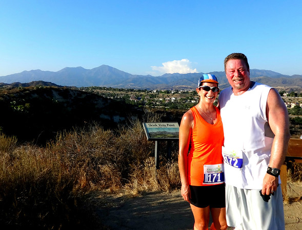 ROCK IT Racing Trabuco Canyon 5 M Trail Run, Coto de Caza CA June 28, 2016