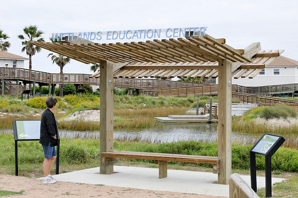 wetlands entry rest area