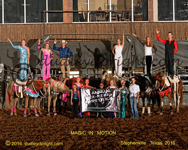 Trick Riding Magic in Motion - Stephenville , Texas - Aug 6-7 ,  2016