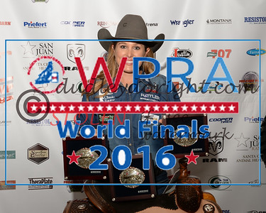 WPRA WORLD FINALS -  Waco, Texas - Oct 20 - 23, 2016