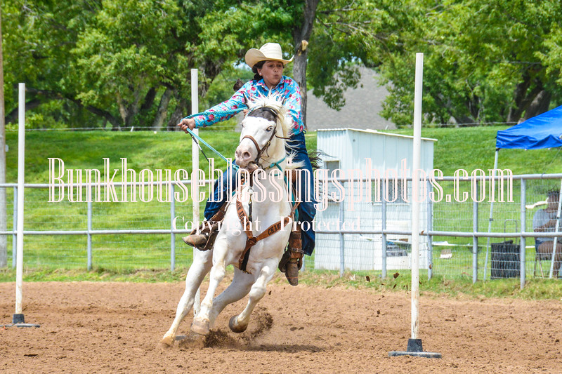 2019_XIT Jr Rodeo_#3 Girls Poles-17