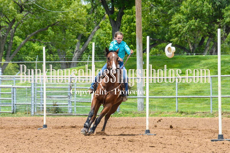 2019_XIT Jr Rodeo_#3 Girls Poles-53