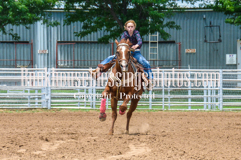 2019_XIT Jr Rodeo_#3 Girls Poles-153