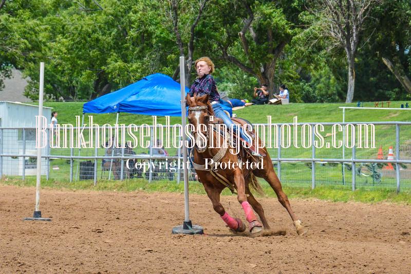 2019_XIT Jr Rodeo_#3 Girls Poles-139