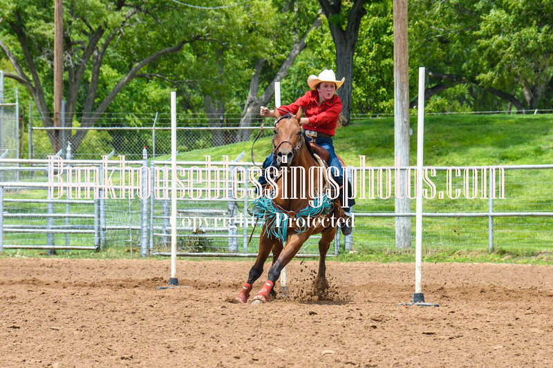2019_XIT Jr Rodeo_#3 Girls Poles-169