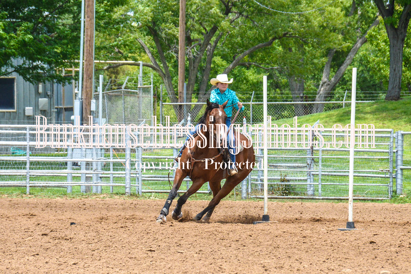 2019_XIT Jr Rodeo_#3 Girls Poles-49