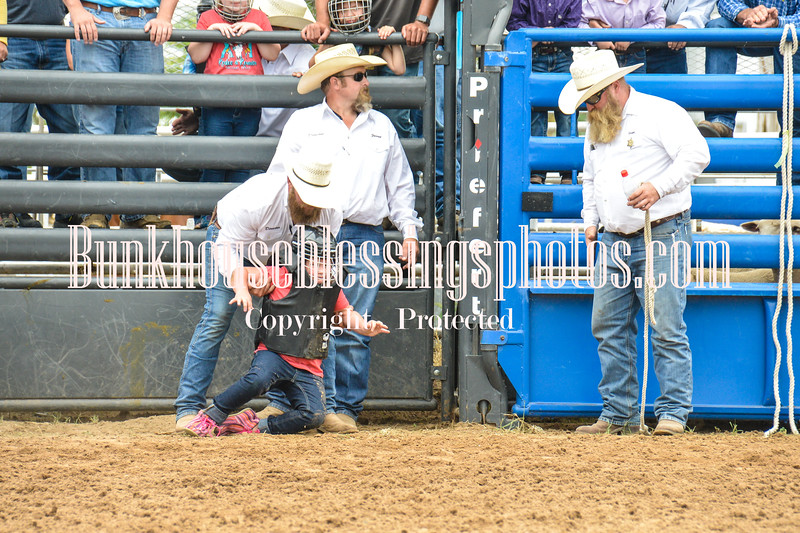 2019_Jr XIT Rodeo_Mutton Busting-14