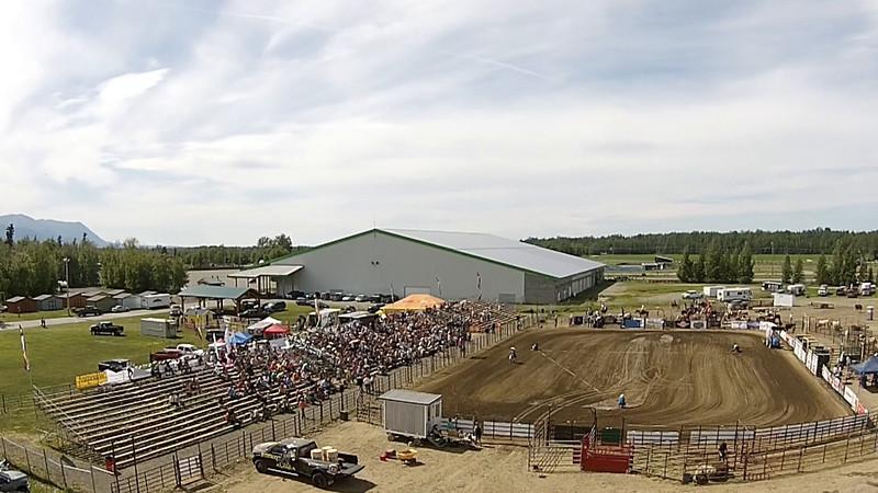grand 2 entry aerial shot