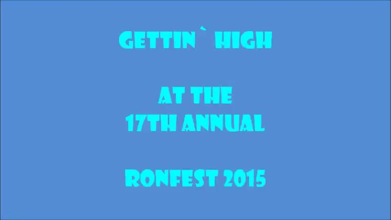 Short flight at Ronfest.