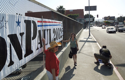 May 29  Hollywood Blvd and Freeway Bannering