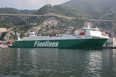 M/S FINNMILL in Salerno.