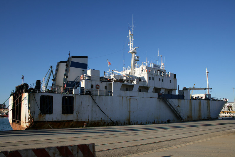 M/S FIONA laid up in Ancona.