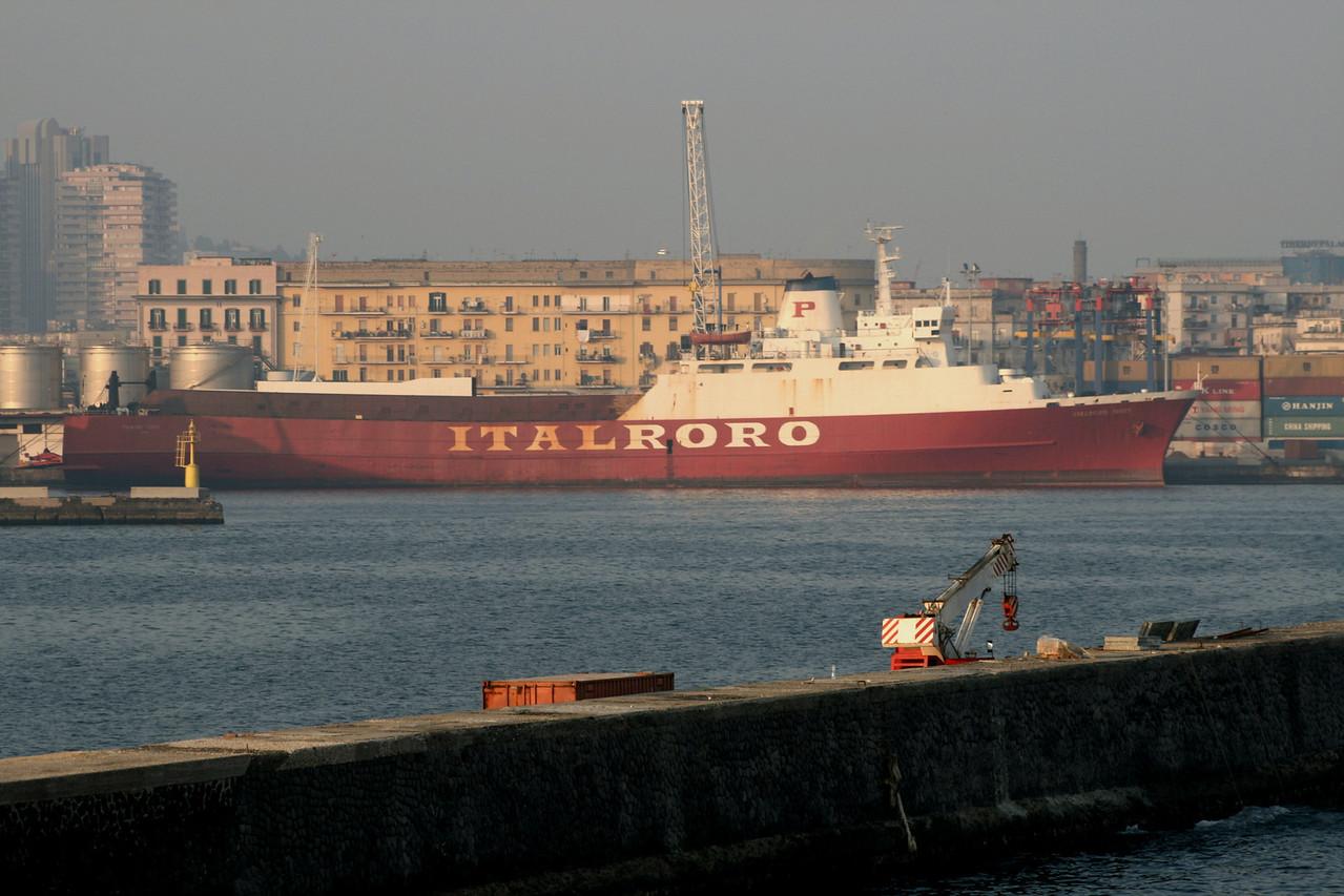 2008 - M/S ITALRORO THREE in Napoli.