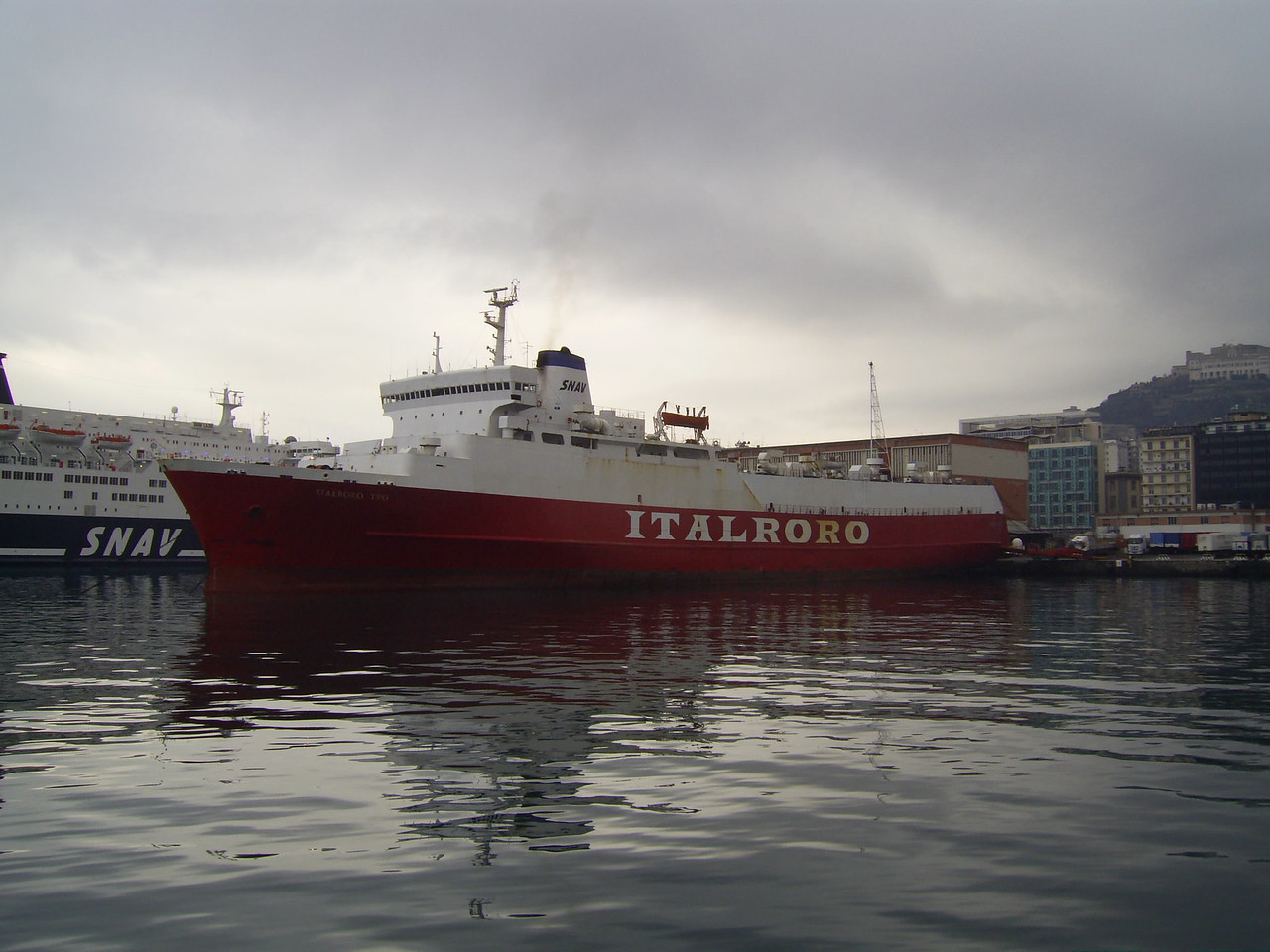 2008 - M/S ITALRORO TWO in Napoli.