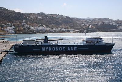 2009 - M/S MYKONOS in Mykonos.