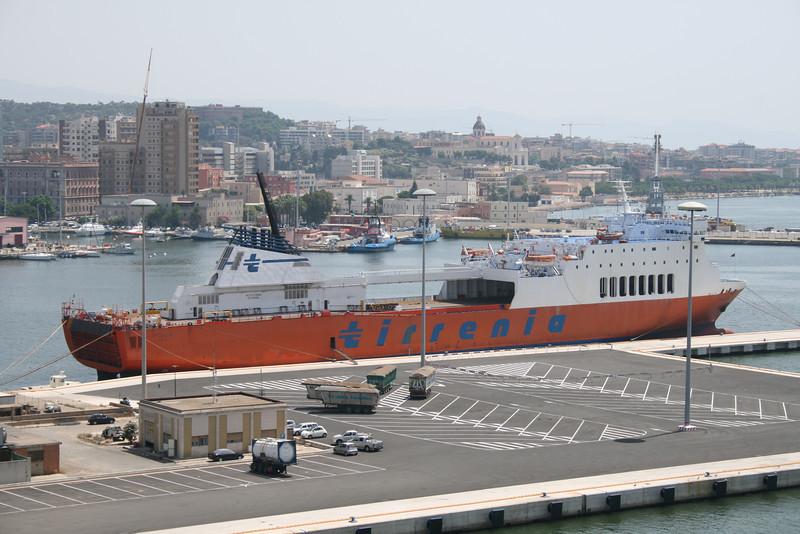 2010 - M/S PUGLIA in Cagliari.