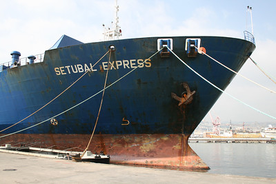 2009 - M/S SETUBAL EXPRESS in Napoli at works.
