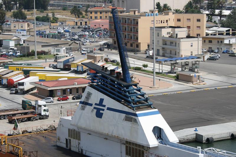 2010 - VIA ADRIATICO in Cagliari : the funnel.