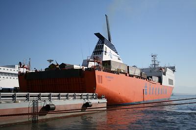2008 - VIA ADRIATICO mooring in Napoli.