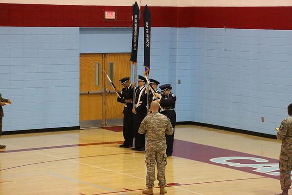 ROTC Drill Meets