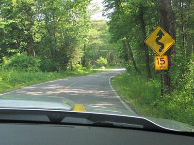 Love those PA roads!