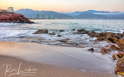 Sunrise across the bay