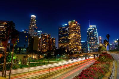 LA Skyline Traffic
