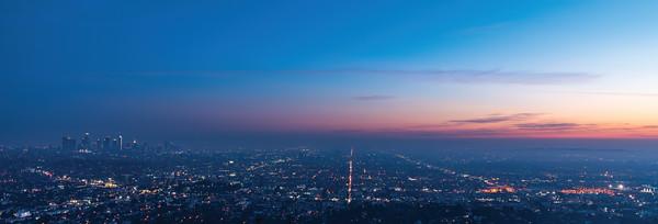 LA Grid Skyline
