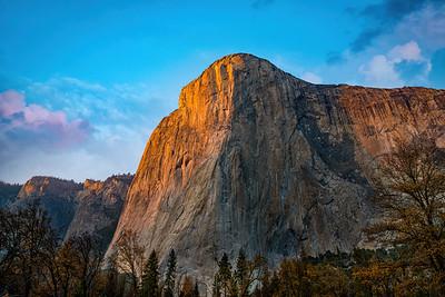 Yosemite ElCapitan Sunset